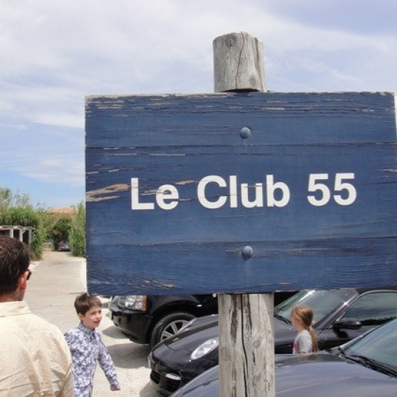 LE CLUB 55 @ Saint-Tropez