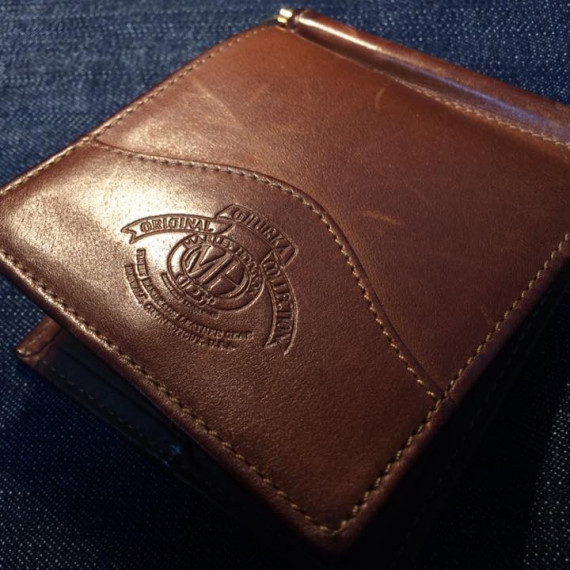 "不幸にならぬよう・・・。""GHURKA MONEY CLIP WALLET"""