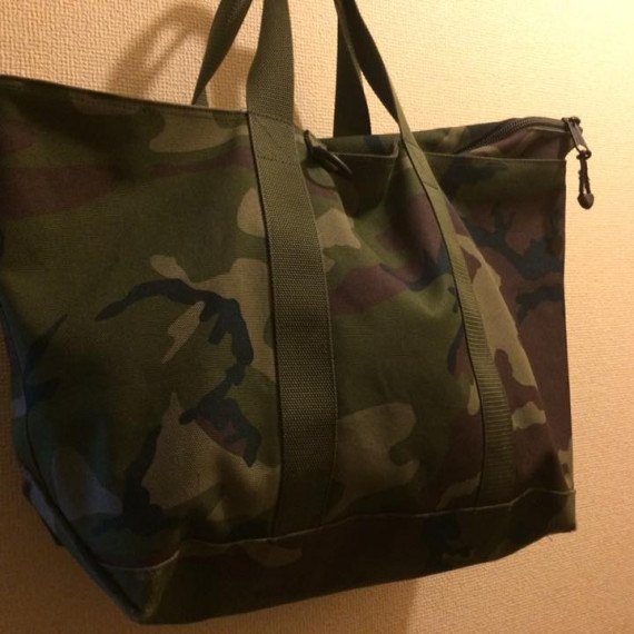 "迷わず購入した、L.L.Bean "" Hunter's Tote Bag Zip-Top """