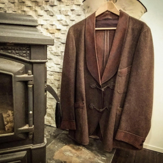 また買っちゃいました!『 SMOKING JACKET 1930'S from  Portland ore.  』